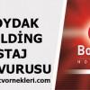Boydak Holding Staj Başvurusu