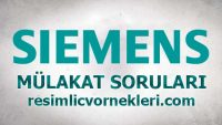 Siemens Mülakat Soruları