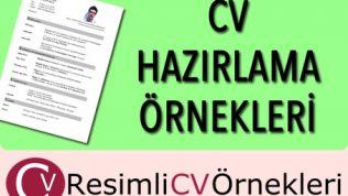 Boş CV Örnekleri