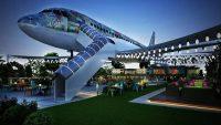 Hindistan' dan Uçak Restoran Hizmeti