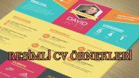 Resimli CV Örnekleri